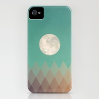 Blue Moon iPhone Case by Galaxy Eyes | Society6