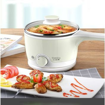 Raccoon Electric Cooker For Student Dorm Room Cook Noodles Plug In Small Electric Cooker