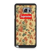 SUPREME CAMO VERTICAL Note 5 Case