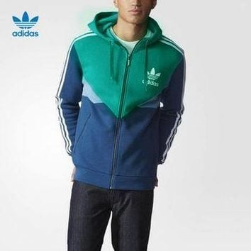 Boys & Men Adidas Cardigan Jacket Coat Hoodie