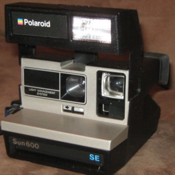 "Polaroid Vintage Sun 600 SE LMS Instant Camera Special Edition ""Rare"""