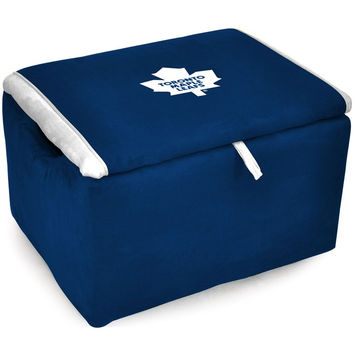 Toronto Maple Leafs Storage Bench