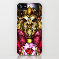 The Beast iPhone & iPod Case by Mandie Manzano