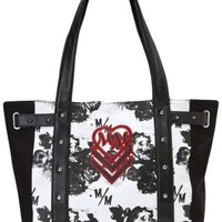 Shadows Tote Bag - Black