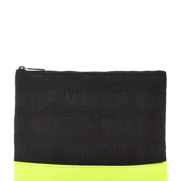 Colorblock Embossed Makeup Pouch - Accessories - Shop All - 1000156175 - Forever 21 EU English