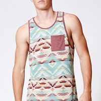 On The Byas Jive Printed Pocket Tank Top at PacSun.com