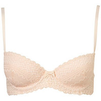 Linear Lace Balcony Bra and Ladypants - New In This Week  - New In  - Topshop