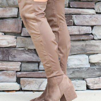 Move On Knee High Boots