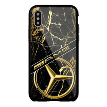 New Luxury AMG Mercedes-Benz For iPhone X 8 8+ 7 7+ 6 6+6s 6s+ 5 5s Samsung Case