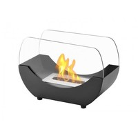 Ignis Liberty Black - Indoor/Outdoor Table Top Ethanol Fireplace (TTF-053)