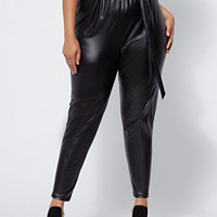 FTF Sonya Paperbag Pants - Fashion To Figure