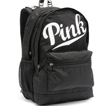 Shop Victoria Secret Pink Backpack on Wanelo