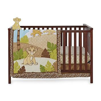 Disney Baby The Lion King 4-Piece Crib Bedding Set - Simba - Baby - Baby Bedding - Bedding Sets & Collections