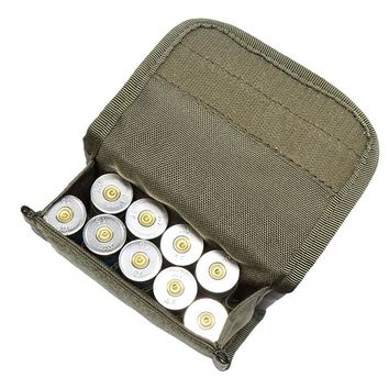 10 Holes Scattered High Capacity Bullet Pouch Multi-functional Tactical Belt Package Outdoor Essential Hunting Supplies Newest