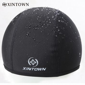 Fleece Thermal Winter Cycling Cap Outdoor Sports Hiking Skiing Mtb Bike Bicycle Riding Windproof Waterproof Headwear Hat