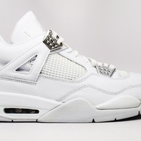 Air Jordan 4 Retro Pure Basketball Shoes <>