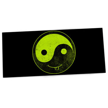 "Frederic Levy-Hadida ""Bad Ass Ying Yang"" Desk Mat"
