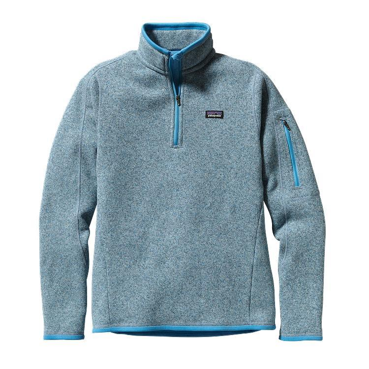 patagonia women s better sweater 1 4 zip from patagonia things