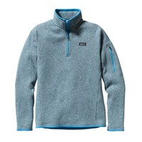 Patagonia Women's Better Sweater® 1/4-Zip Fleece Pullover | Nettle Green