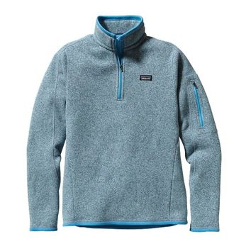 Patagonia Women's Better Sweater® 1/4-Zip Fleece Pullover | Dusk Blue