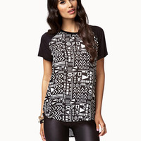 Tribal Print Top | FOREVER 21 - 2074565784