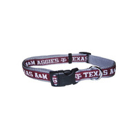 Pets First Texas A M Aggies Team Pet Dog Collar Medium