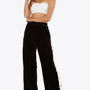 In A Snap Track Pants
