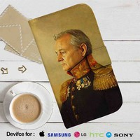 Bill Murray Leather Wallet iPhone 4/4S 5S/C 6/6S Plus 7| Samsung Galaxy S4 S5 S6 S7 NOTE 3 4 5| LG G2 G3 G4| MOTOROLA MOTO X X2 NEXUS 6| SONY Z3 Z4 MINI| HTC ONE X M7 M8 M9 CASE