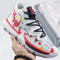 Trendsetter Nike Kyrie 5 Translucent Midsole High  Women Men Fashion Casual Sneakers Sport Shoes