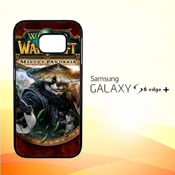 World of Warcraft Guardian Druid Mists of Pandaria Z0652 Samsung Galaxy S6 Edge Plus Case