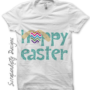 Easter Iron on Transfer - Spring Shirt Design / Kids Easter Shirt / Nursery Printable / Kids Girls Clothing Tshirt / Home Decor IT153
