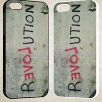 reloveution art F0606 iPhone 4S 5S 5C 6 6Plus, iPod 4 5, LG G2 G3, Sony Z2 Case