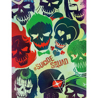 DC Comics Suicide Squad Faces Poster
