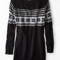 AEO Women's Fair Isle Jegging Sweater