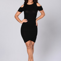 Forbidden Touch Dress - Black