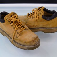Skechers 7430 Tom Cats Utility Shoes Leather Work Boots Mens Size 10.5