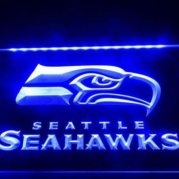 DCCKH6B LD242- Seattle Seahawks Bar Pub   LED Neon Light Sign  home decor  crafts