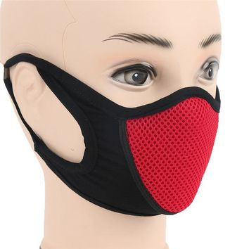 Winter Warm 1Pcs Face Mask Unisex Outdoor Sports Windproof Anti-Haze Anti-Dust Multipurpose Ear Loop Mask Summer Sun Protect