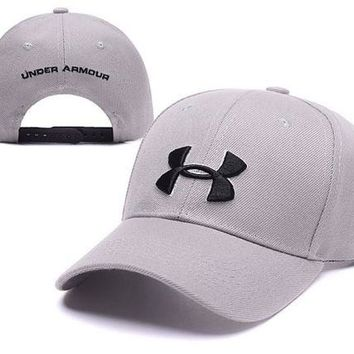 LMFDQ7 Trendy Beige Under Armour Embroidered Outdoor Baseball Cap
