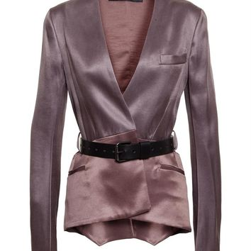 Silk-Blend Jacket - HAIDER ACKERMANN