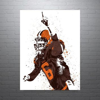 Baker Mayfield Cleveland Browns Poster