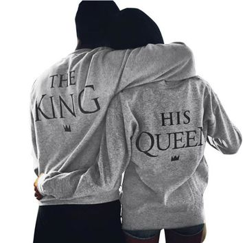 The King and His Queen Matching Shirt Sets for Couples