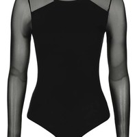 Jersey Mesh Body - Lingerie - Clothing
