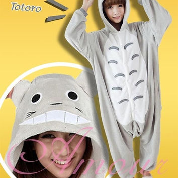 Halloween Totoro Couples Gift Anime Cosplay Pyjama My Neighbor Totoro Anime Cosplay Japanese Anime Pajamas Adult Costume Fashion Kigurumicosplaypajama Costume [7651781318]