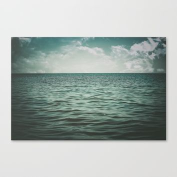 Into The Sea Of Lost Souls  Canvas Print by Faded  Photos