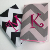 Vinyl Passport Cover / Holder / Case - Chevron - Zig Zag - ZigZag - design your own chevron zig zag custom monogram Personalized
