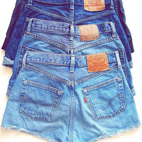 Plain Jane High Waisted Shorts