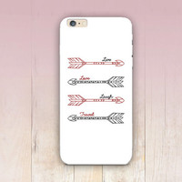 Tribal Arrows Quote Phone Case For - iPhone 6 Case - iPhone 5 Case - iPhone 4 Case - Samsung S4 Case - iPhone 5C - Tough Case - Matte Case