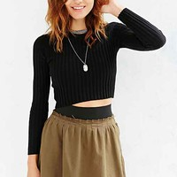 Silence + Noise Vari Multi-Tuck Mini Skirt-
