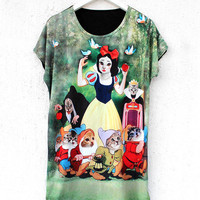 Snow White Cat Tee | BATOKO